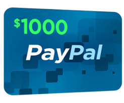 Get A Paypal $1000 Gift Card